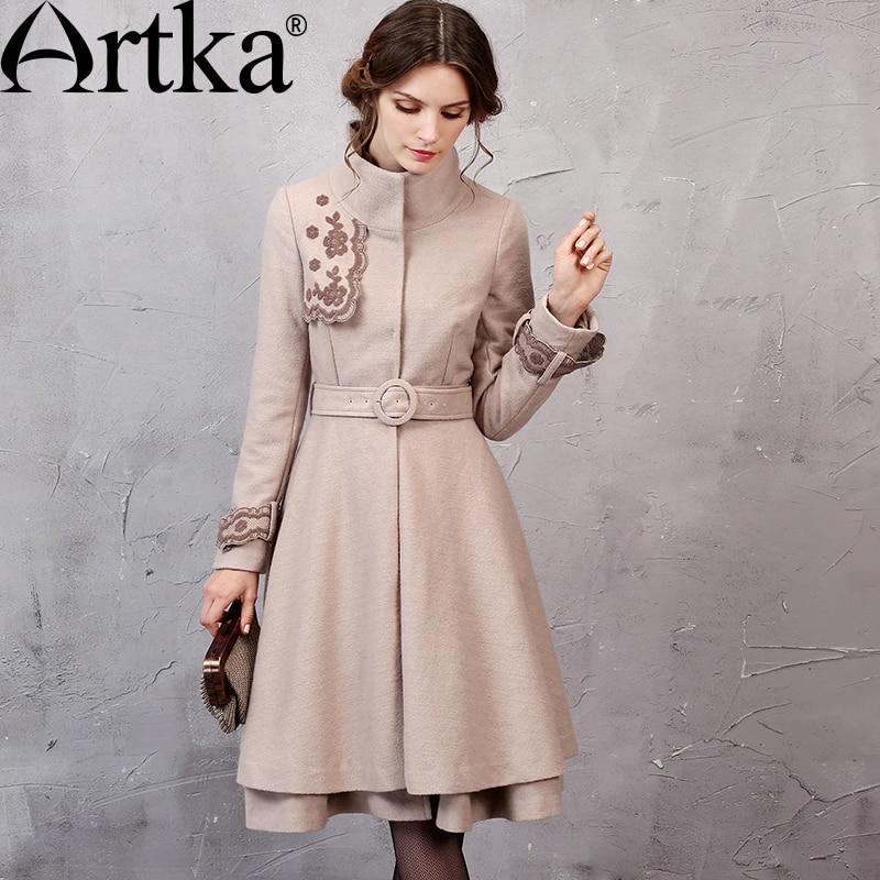 Aliexpress.com: Comprar Chaqueta de lana ARTKA femenina