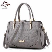 Luxe célèbre marque femmes sac dames sac à main de haute qualité sacs à bandoulière en cuir PU fourre-tout crocodile motif sac de messager bolsos