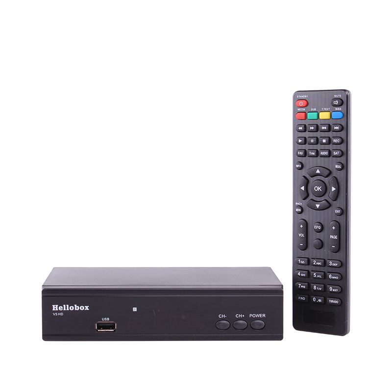 US $28 0 30% OFF|Hellobox V5 Satellite Receiver DVBS2 IPTV For Cccam  Function Online Software Upgrade Support Newcam Mgcam SCAM 2 Year TV BOX-in