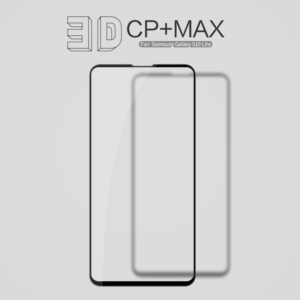 10 ชิ้น/ล็อต NILLKIN Amazing 3D CP + MAX Full Coverage Nanometer Anti   Explosion 9 H ฟิล์มกระจกนิรภัยสำหรับ samsung Galaxy S10 Lite-ใน แผ่นกันรอยหน้าจอโทรศัพท์ จาก โทรศัพท์มือถือและการสื่อสารระยะไกล บน AliExpress - 11.11_สิบเอ็ด สิบเอ็ดวันคนโสด 1
