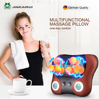 JinKaiRui Cervical Vertebra Massager Neck Waist Back Shoulder Massage Pillow Household Multifunctional Cushion Relaxation