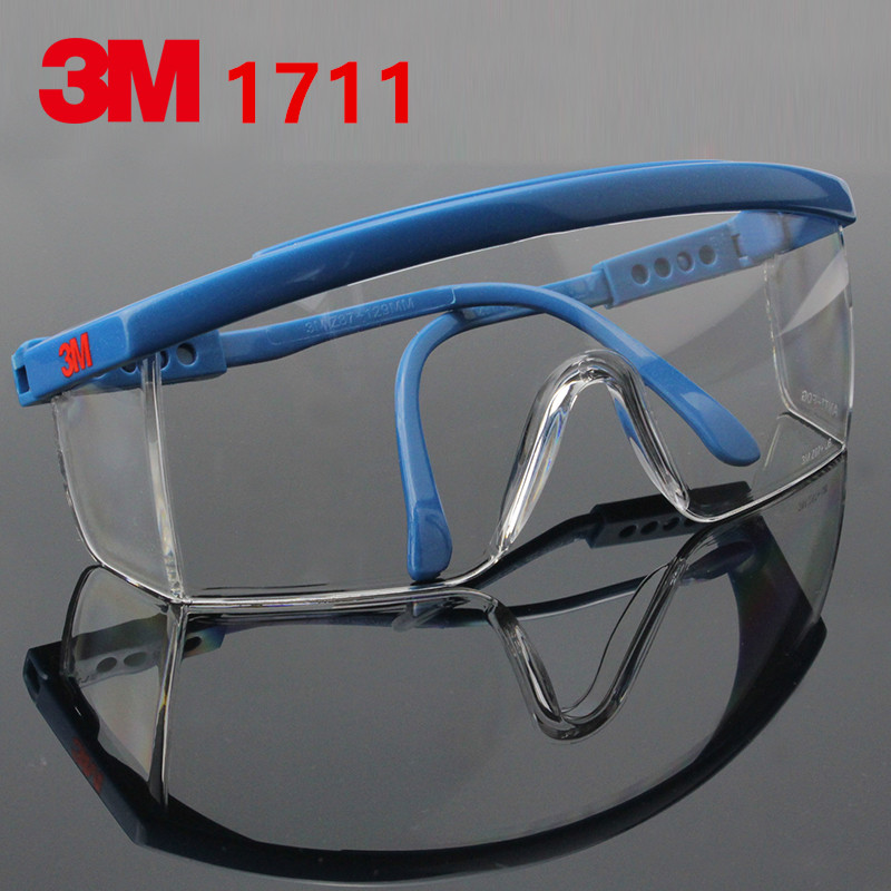 3m 1711 Anti-shock Wind Uv Protective Glasses Riding Eyewear Goggles Blue Frame Tools & Workshop Equipment