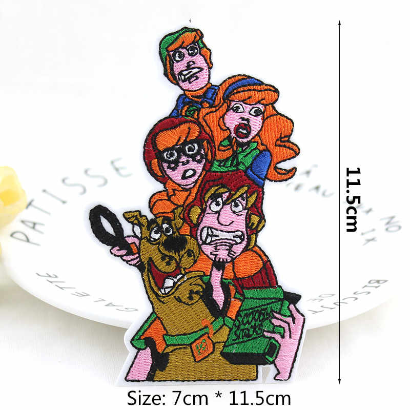 Sesame Street Characters Iron//Sew On Patch Embroidered Badge Kids Muppet Show
