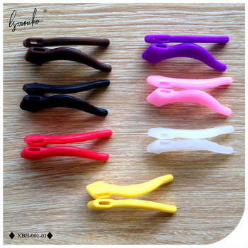 Lymouko High Quality 2Pairs/Lot Multicolor Ear Hooks for Glasses Anti Slip Temple Holder Comfortable Silicone Ear Tip