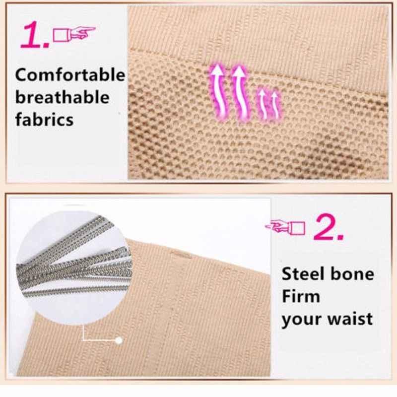 Miss Moly Mulheres Shapewear Cintura Alta Tummy Body Control Shaper Lingerie Sem Costura Tanga Calcinha Cinto de Emagrecimento Espartilho Bodysuit