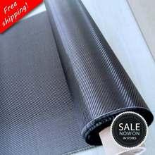 Frete grátis [grau a +] 100% pano de fibra de carbono real 32