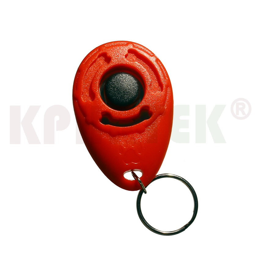 50 PCS Pet Dogs Training Clicker Crisp And Easy To Carry Strap Design
