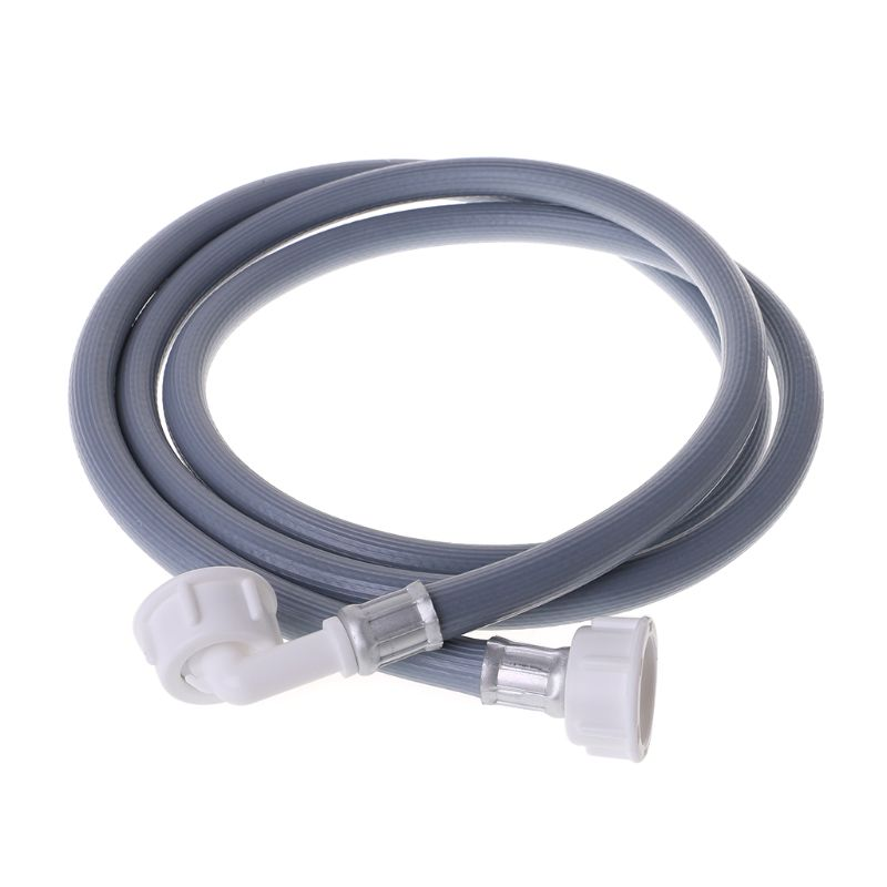 Washing Machine Dishwasher Inlet Pipe Water Feed Fill Hose With 90 Degree Bend