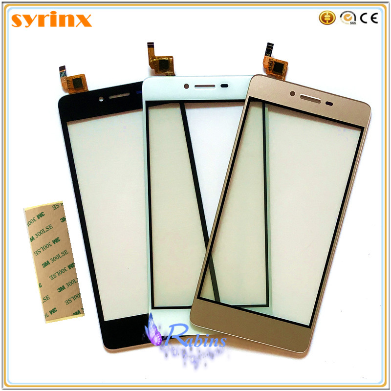 SYRINX Free Tape Sticker Touch Screen Digitizer Sensor Touchscreen For Micromax Q421 Canvas Magnus Touch Panel Front Glass Lens