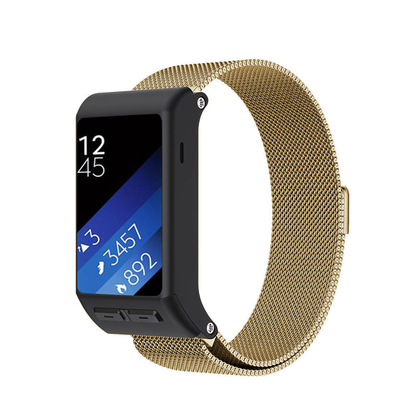 HL 2016  Milanese Magnetic Loop Stainless Steel Band For Garmin vivoactive HR Sept 9 cold steel recon 1