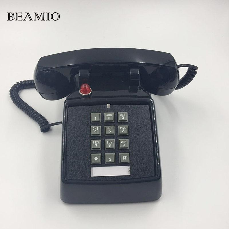 Retro Telephone Landline Old-Fashioned American Antique Telephone Landline Phone Office Home Hotel