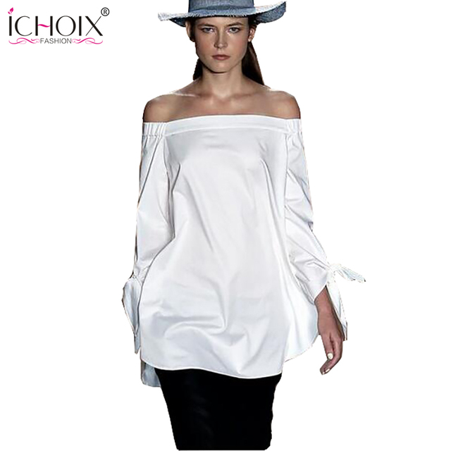 Girls White Blouse Women Tops beach short  Elegant Bow Blue Off Shoulder Female Blouse Shirt Sexy Summer Tops Kimono Cardigan