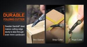 Image 4 - NEXTOOL Multi function Box Opener Box Cutter Mini Rescue Knife Taobar