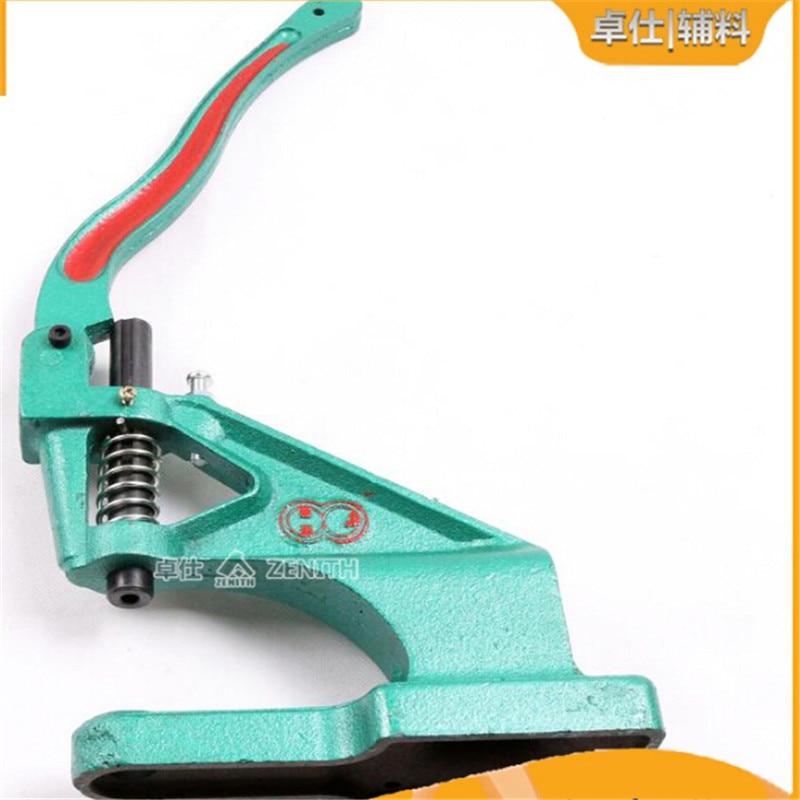 KAM Manual DK93 or Half Manual DK98 hand press machine Grommet Eyelets Snap Button molds install