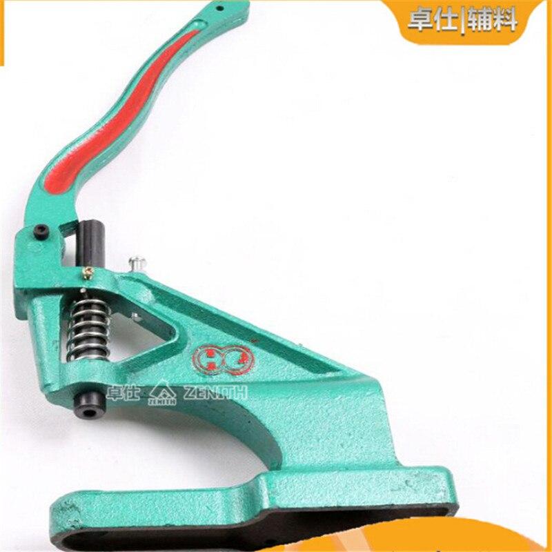 Kam 수동 dk93 또는 반 수동 dk98 핸드 프레스 기계 그로멧 아이렛 스냅 버튼 금형 설치 기계 핸드 펀치 도구 eh230-에서재봉 기계 & 액세사리부터 홈 & 가든 의  그룹 1