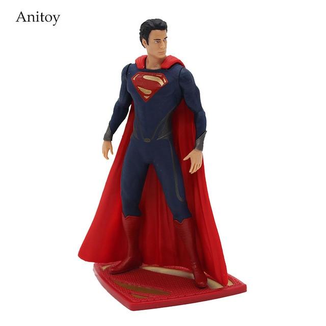 DC COMICS Superhero Superman Figuras PVC Action Figure Collectible Modelo Toy 12 cm KT3880