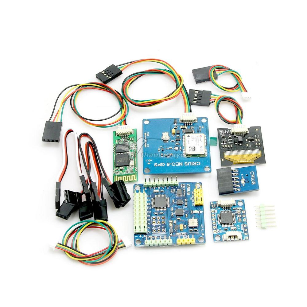 MWC MultiWii SE V2.5 Control Board with GPS OLED Bluetooth Module FTDI USB-TTL crius mwc multiwii se flight controller bluetooth module parameter debug adapter
