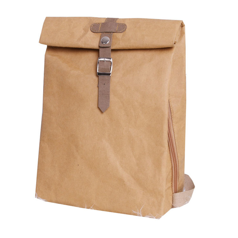 Designer Washable Kraft Paper Female Backpack Women School Bag High Quality Backpack Light Multipurpose Business Computer Bag