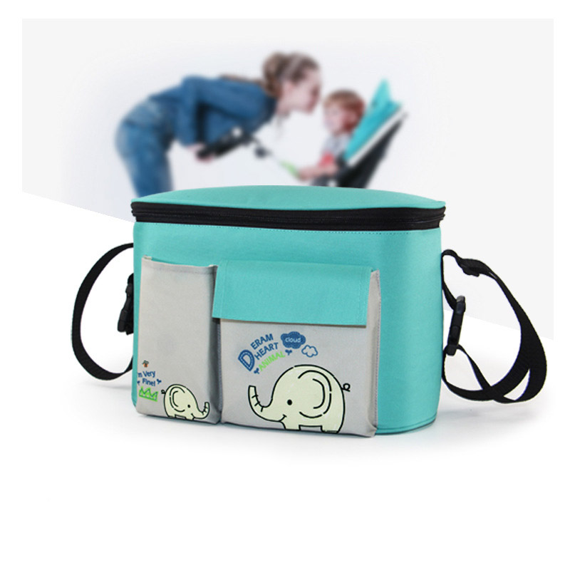 Maternity Stroller Organizer Hanging Bag Large Capacity Mummy Bag Brand Travel Backpack For Baby Care Stroller Diaper Bag