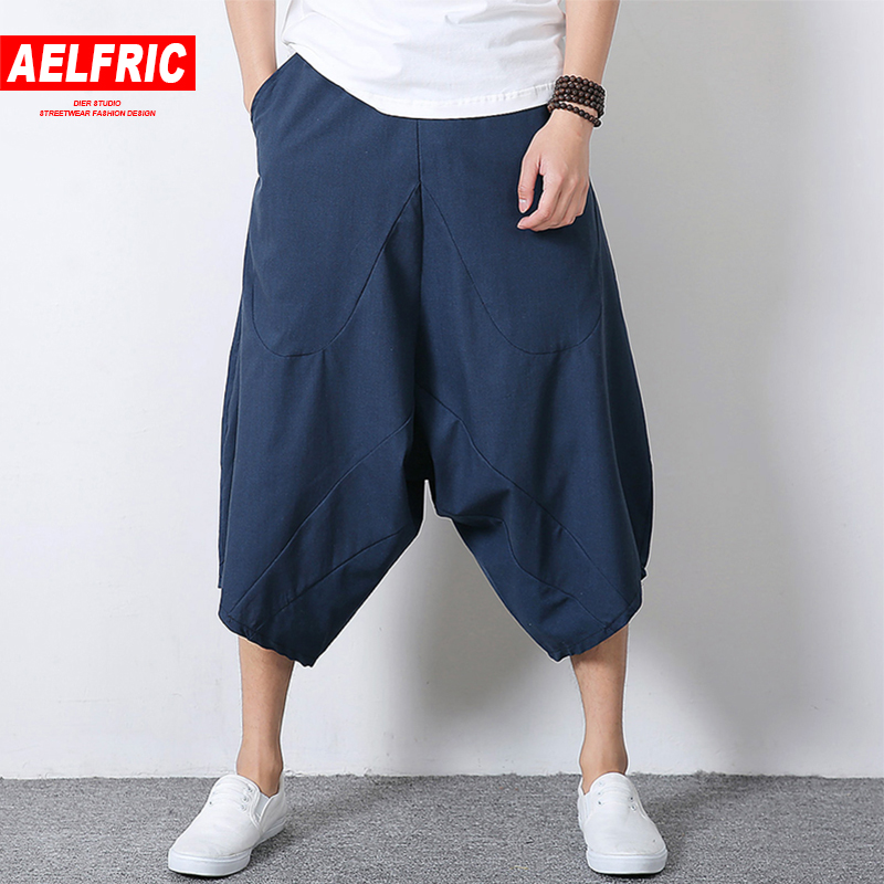 7653cfd4d6f0 AELFRIC Plus Size Linen Chinese Style Tai Chi Kendo Aikido Kungfu  Sportswear Men Summer Casual Pants Streetwear Man Joggers TR16-in Cross  Pants from Men s ...