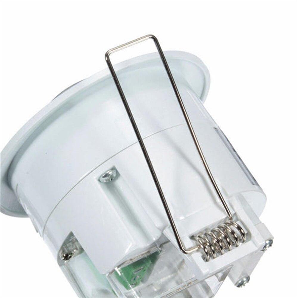 Image 4 - 360 graus mini infravermelho pir detecção ir parede teto recessed  sensor de movimento detector interruptor de luz automáticaSensor e  detector