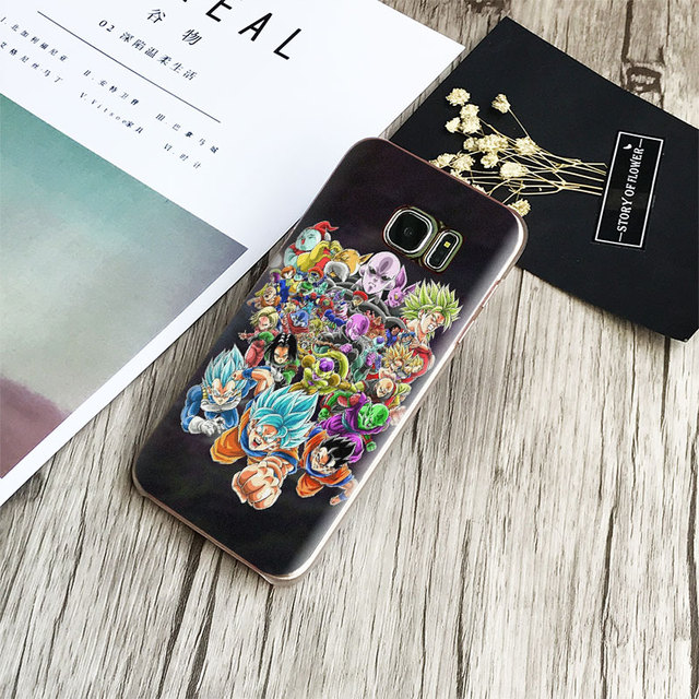 Dragon Ball Goku Samsung Phone Case (8 Types)