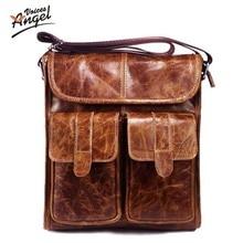9773690f2560 2016 New Arrival Men s Shoulder Bag Satchel Genuine Cowhide Leather  Messenger Bags For Men Rugged Portfolio