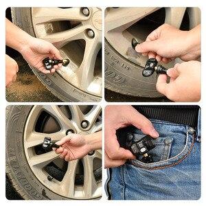 Image 2 - Autel TPMS Tool MX Sensor 433MHZ 315MHZ Car Tire Repair Tool Tyre Pressure Sensor Program by MaxiTPMS PAD TS401 TS601 MK808 TS