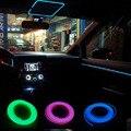 Автомобиль декоративные полосы света автомобиля освещение салона окружающего освещения модернизации облицовка кузова интерьера привело холодный свет газа 1 М 2 М