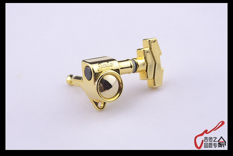 Made In Korea #0053 Clearance Processing 1 Set Guitarfamily 3r-3l Guitar Machine Heads Tuners Gold