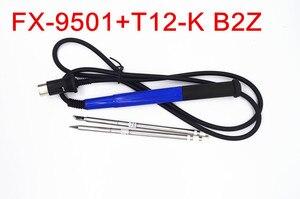 Image 3 - Hakko FX951 9501 납땜 스테이션 용 950 핸들이있는 NOVFIX 2pcs T12 팁 전기 용접 공구 납땜