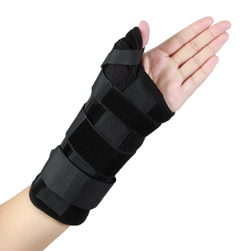 Wrist Thumb Finger Support Brace Splint Wrap Strap Guard Stabilizer Saver Protector
