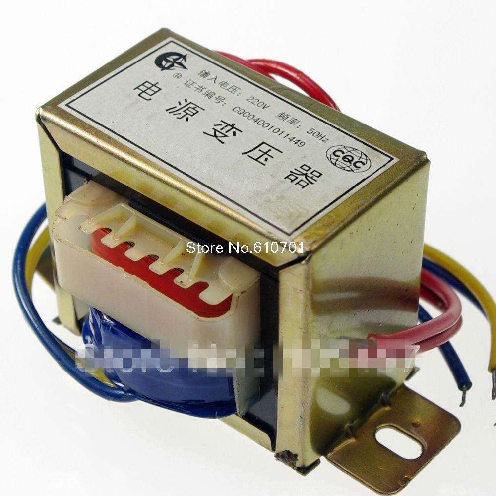 (1)24VAC Output Voltage 20W EI Ferrite Core Input 220V 50Hz Vertical Mount Electric Power Transformer ei 57 model ei ferrite core 220v 50hz input ac 24v 30va 30w output power transformer
