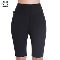 Gotoly Neoprene High Waist Trainer Women Control Panties Hot Shapers Body Shaper Slimming Shorts Pants Sweat