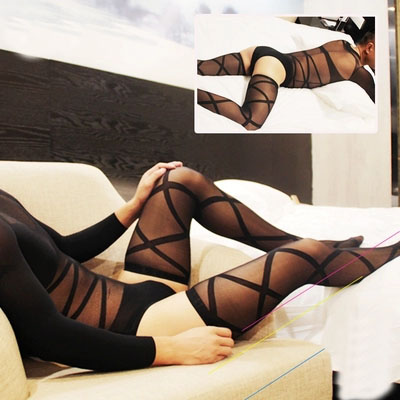 new Men body hose body stocking shaping bodysuit male sexy solid jumpsuit body building body stocking Sexy Socks net stockings