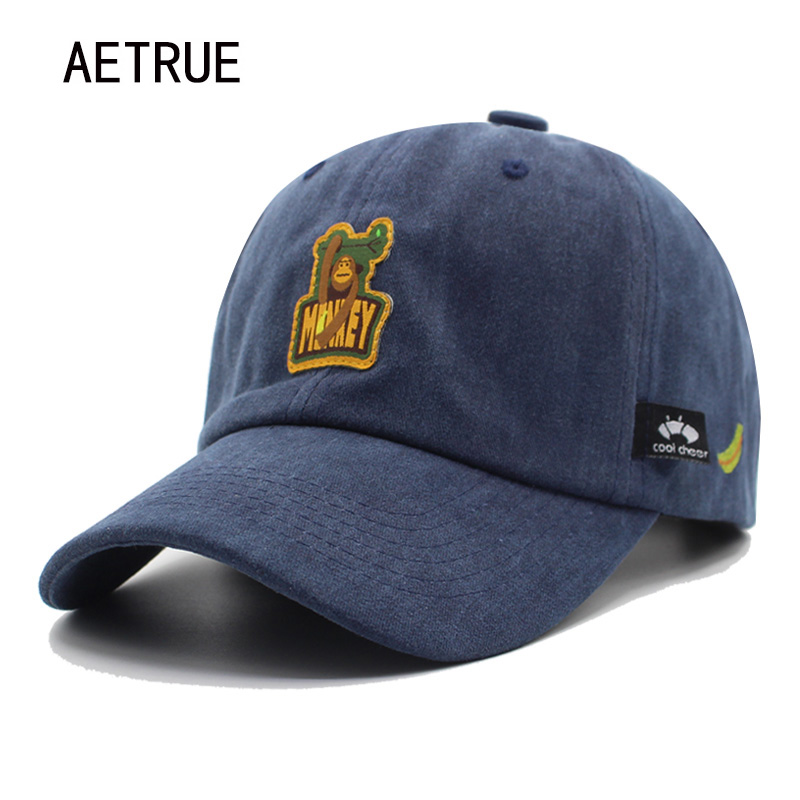 Buy AETRUE Fashion Snapback Women Men Baseball Cap Hats For Men Bone Casquette Gorras Cotton Vintage Female Male Brand Dad Hat Caps for $5.83 in AliExpress store
