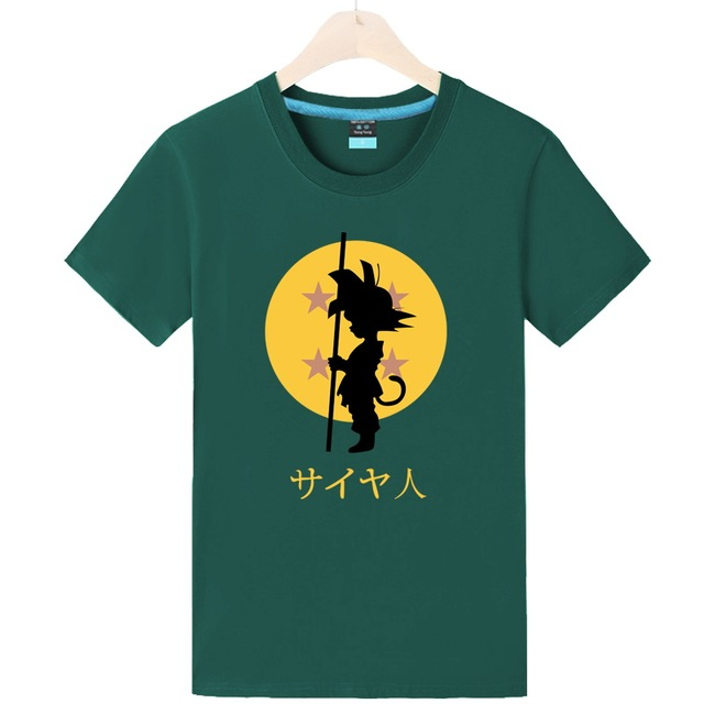 Dragon Ball Son Goku Cosplay Short Sleeve Fashion Women's T-Shirt