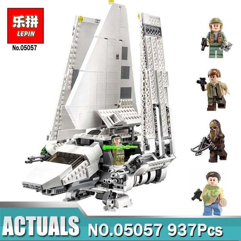 937 pcs Lepin 05057 Étoiles Série Les Combats Navette Tydirium Wars Autobloquant Blocs de Construction pour Enfants LegoINGlys 75094