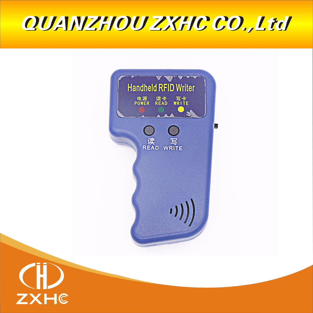 T5577 또는 EM4305에 사용되는 휴대용 125khz 복사기 RFID 스마트 ID 카드 복사기