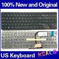 Genuino NUEVO y Original Del teclado del Ordenador Portátil para HP serie SG-59660-2BA 15-P SN6136 teclado EE.UU. negro