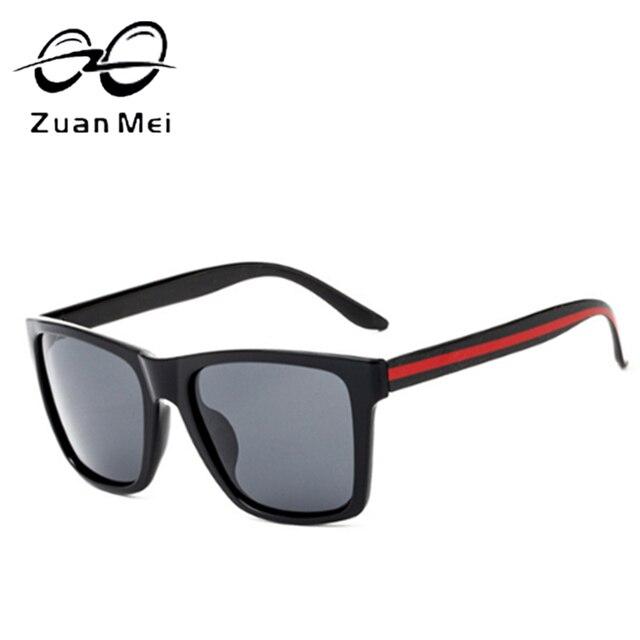 Alta Qualidade Hot Sale Red Stripe Retro Praça Da Moda Senhora Óculos  Polarizados Óculos de Sol 25341011de