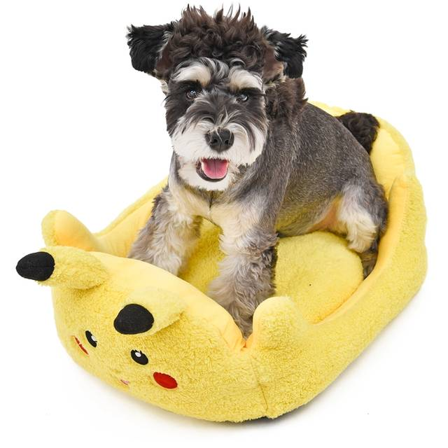 Online Shop Pikachu Pet Dog Bed Pokemon Go Pet Products Soft Bed For