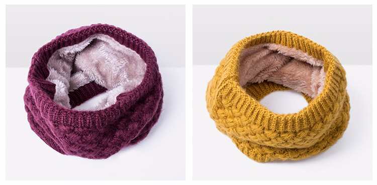 Согретый! Новые Детские Зимний Шарф детский вязаный толстый Шарфы для женщин мальчика девочка кольцо шарф мода зима хлопка дети шарф