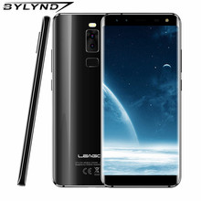 LEAGOO S8 5.72 Inch Edge-Less 18:9 Display Android 7.0 MTK6750T Octa Core 3GB RAM 32GB 13MP 4 Cameras Fingerprint 4G Phones