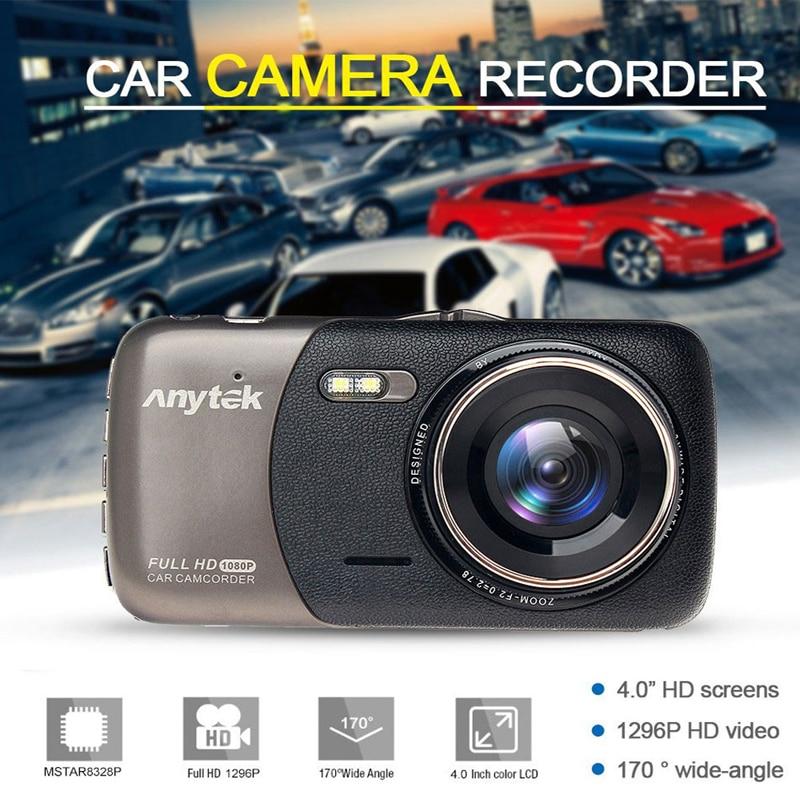 Original Anytek B50 2K 4.0 Dash Camera Car DVR with Mstar chip support G sensor/WRD/Motion Detection 1080P Full HD Car Recorder bigbigroad for nissan qashqai car wifi dvr driving video recorder novatek 96655 car black box g sensor dash cam night vision