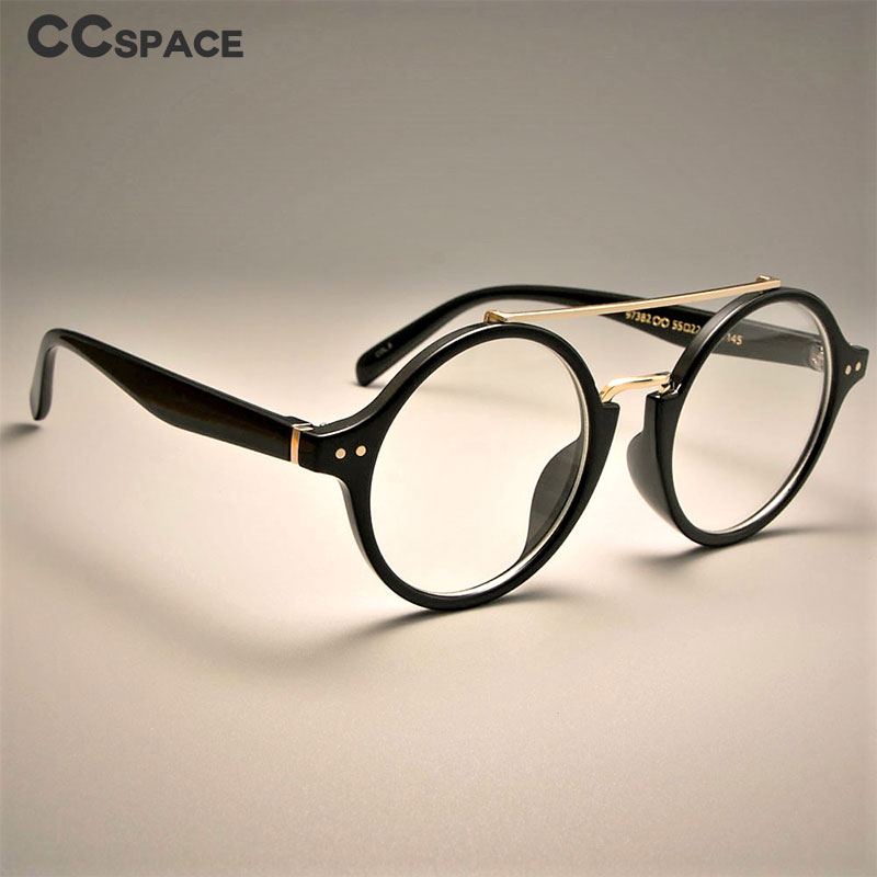 Retro Round Glasses Frames Men Women Optical Fashion Computer Glasses 97382