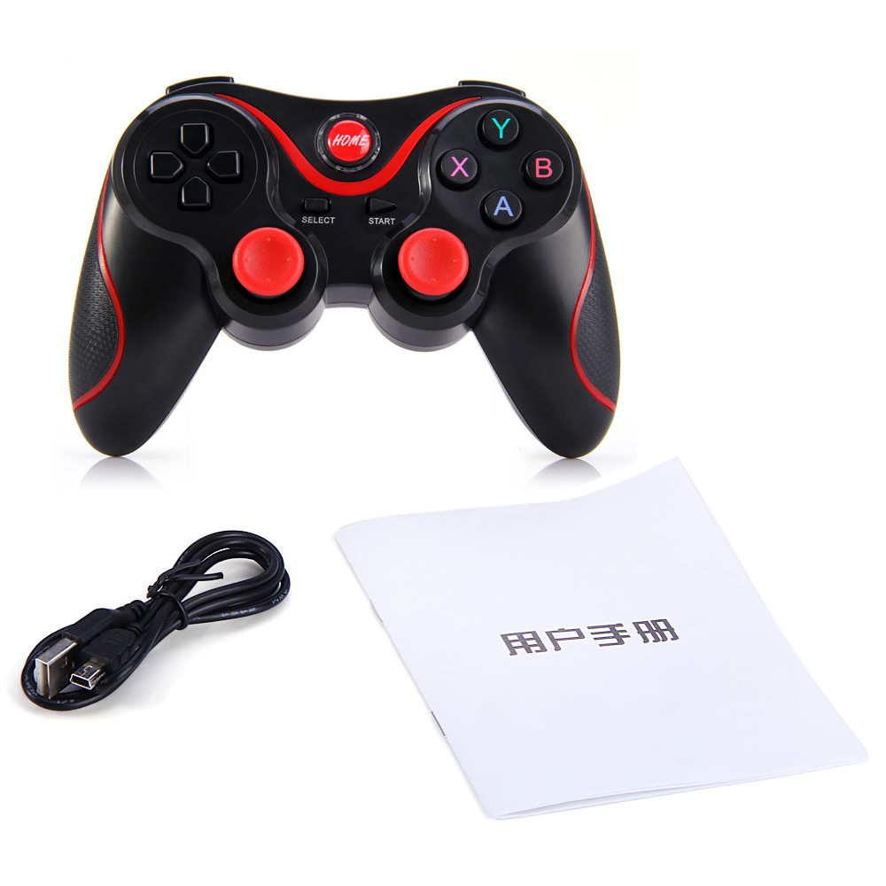 Terios Gamepad T3 Holder Android Bluetooth Smartphone Vr Box Controller Smart Phone Game Wireless Joystick 30 Gaming Remote Control For