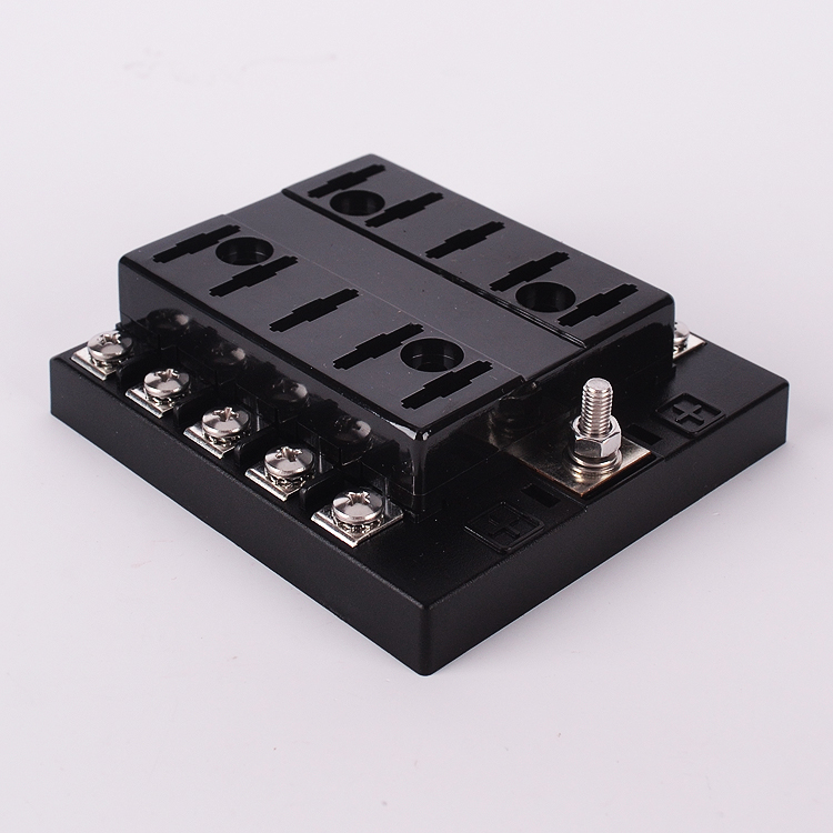 popular automotive fuse box connectors buy cheap automotive fuse 32v 10 way universal car truck automotive blade fuse holder box circuit ato atc wth fuse