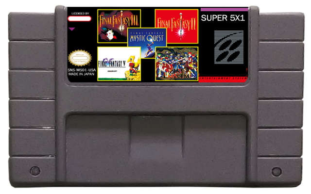 classic snes game/mutil-games/free ship/hot sell/ms001/5in1/mixed order/snes cartridge