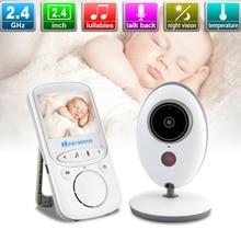 2.4 Cal bezprzewodowy LCD Audio elektroniczna niania niania muzyki domofon IR kamera dla dziecka dla dzieci Walkie Talkie opiekunka do dziecka